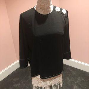 Zara button top